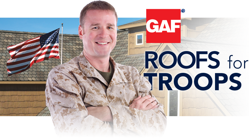 GAF Roofs for Troops